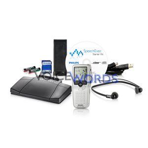 Diktiergerät + Wiedergabeset Philips Digitales Starter Kit 9398