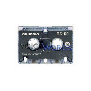 Grundig Mikrokassette MC 60