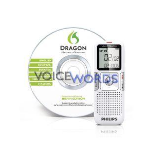 Philips Digital Voice Tracer 617 + DNS Spracherkennung