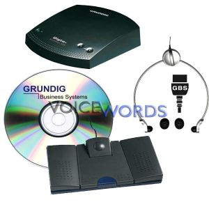 Grundig Digta Transcription Premium Kit 567 Pro