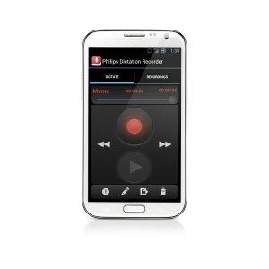 Philips Diktierapp für Android Smartphone LFH0747