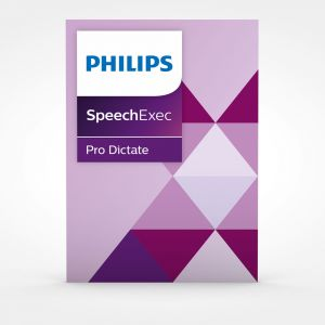 Philips SpeechExec Pro 10 Dictate inkl. Spracherkennung (PSE4400)