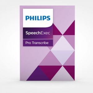 Philips SpeechExec Pro 10 Transcribe inkl. Spracherkennung (PSE4500)