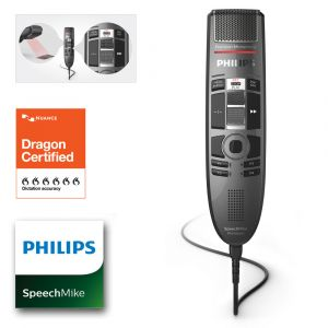 Philips SpeechMike Premium Touch mit Barcode SMP3810
