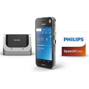 Philips SpeechAir PSP2200 Diktiergerät mit SpeechExec Pro Software