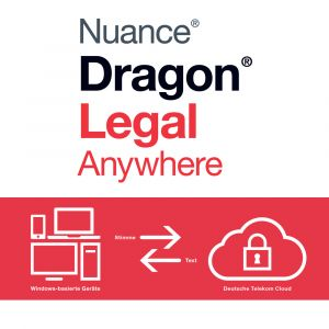 Spracherkennung Dragon Anywhere Legal zur Miete