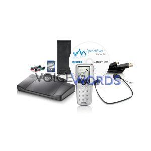 Diktiergerät + Wiedergabeset Philips Digitales Starter Kit 9397